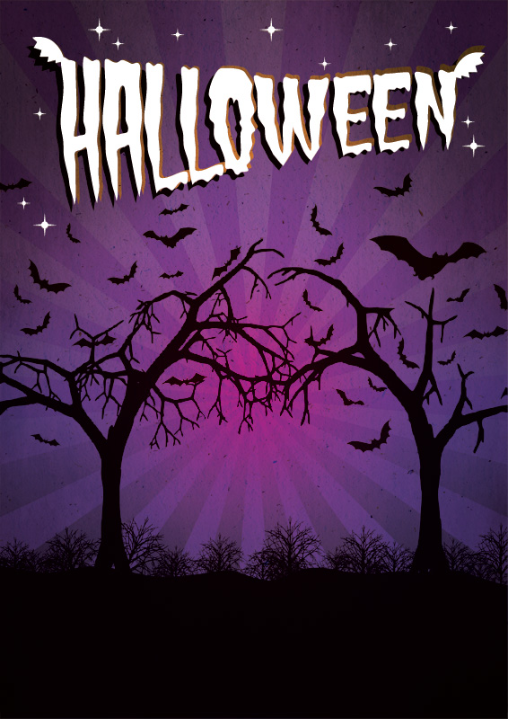Halloween poster background | Free Poster Templates & Backgrounds