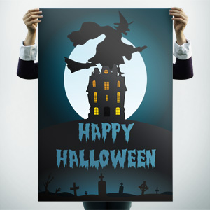 halloween free poster templates backgrounds